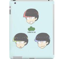 OSOMATSU-SAN: Eldest Trio Heads [VER.1] iPad Case/Skin