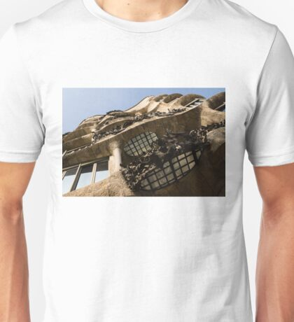 Wrought Iron, Glass and Stone Plus a Genius Imagination Unisex T-Shirt