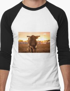 Close Encounter of the Bovine Kind Men's Baseball ¾ T-Shirt