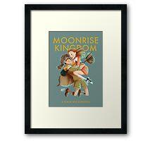 Moonrise Kingdom by Wes Anderson Framed Print