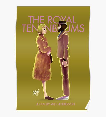 The Royal Tenenbaums by Wes Anderson Poster