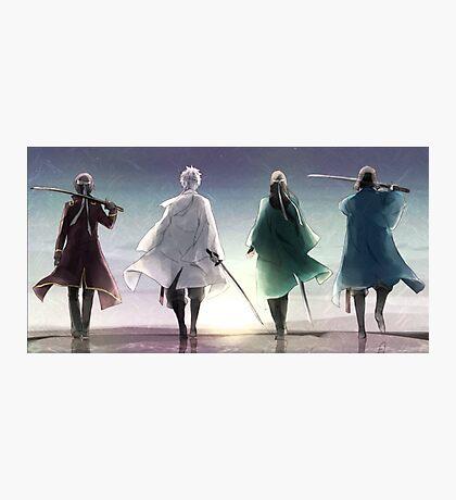 Gintoki Sakata Gintama Silhouette Anime Photographic Print