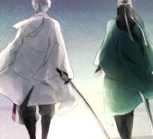 Gintoki Sakata Gintama Silhouette Anime Sticker