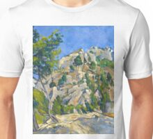 1874 - Paul Cezanne - Bottom of the Ravine Unisex T-Shirt