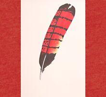 Black Cockatoo Feather (Female) Tri-blend T-Shirt