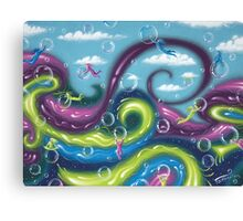 Inner Vision - acrylic painting Canvas Print