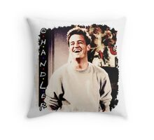 Friends --- Chandler Bing Throw Pillow