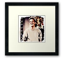 Friends --- Chandler Bing Framed Print