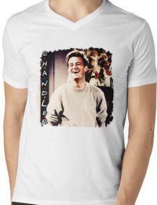 Friends --- Chandler Bing Mens V-Neck T-Shirt