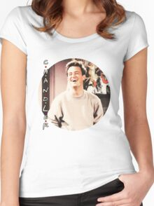 Friends --- Chandler Bing (v2) Women's Fitted Scoop T-Shirt