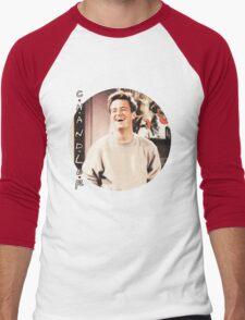 Friends --- Chandler Bing (v2) Men's Baseball ¾ T-Shirt