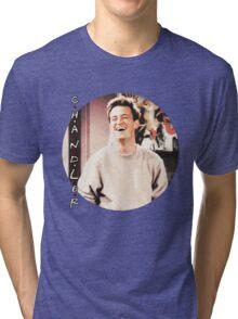 Friends --- Chandler Bing (v2) Tri-blend T-Shirt