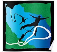 Bungee Jumper, Bungy Jumping Poster