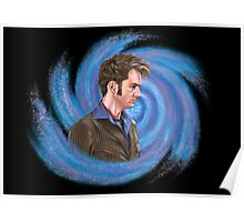 Tenth Doctor. Inside Vortex Poster