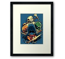 The Assassins  Framed Print
