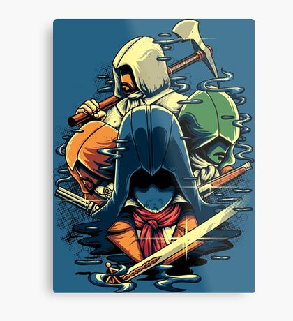 The Assassins  Metal Print