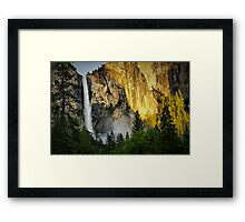 Twilight at Yosemite Framed Print