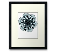 Tessellate and Decay Framed Print