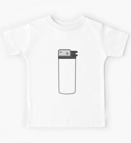 Lighter with a transparent body Kids Tee