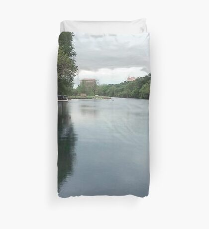 Riverside At The Meadows Duvet Cover