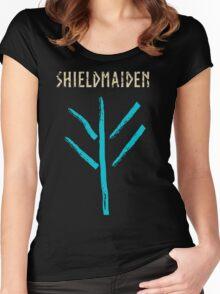 shieldmaiden -  symbol Women's Fitted Scoop T-Shirt