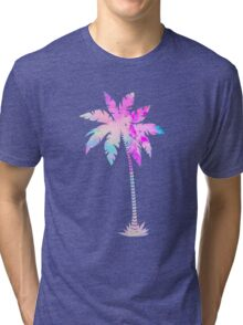 Palm tree pattern Tri-blend T-Shirt