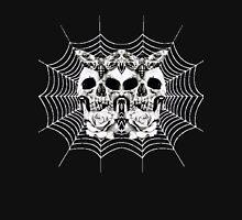 Skull-3 Skull- Spider Web Unisex T-Shirt