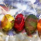 Colorful eggs  by RosiLorz