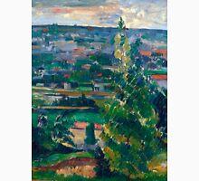 1878 - Paul Cezanne - Landscape from Jas de Bouffan Unisex T-Shirt