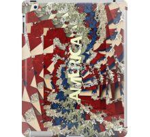 Abstract Patriotic America iPad Case/Skin