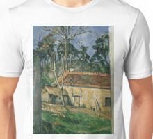 1879 - Paul Cezanne - Farmyard Unisex T-Shirt