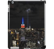 New York 9/11 Tribute from Top of the Rock, September 11th 2015 iPad Case/Skin