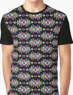 ethnic psychedelic Graphic T-Shirt