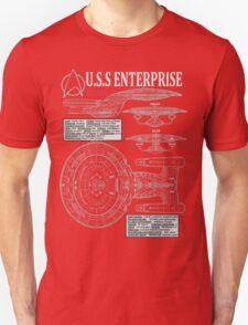 PICARDS ENTERPRISE NCC1701D  T-Shirt