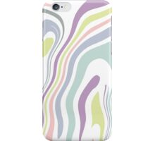 Marble pattern in pastel colors iPhone Case/Skin