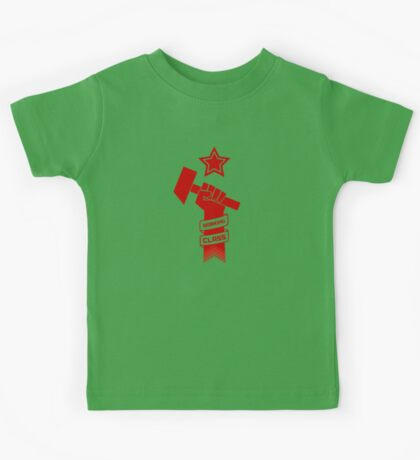 Raised Fist of Protest - Working Class Kids Tee