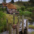 Hobbiton New Zealand by Margaret Metcalfe