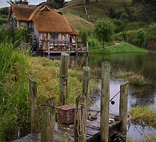 Hobbiton New Zealand by Margaret Metcalfe