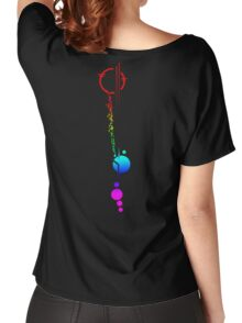 Commander Lexa's Tattoo (Rainbow) Women's Relaxed Fit T-Shirt