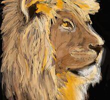 Proud Lion by VOO MOO