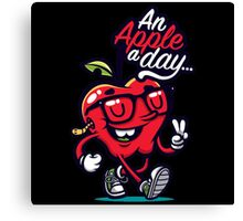 Apple Days is Funny Canvas Print