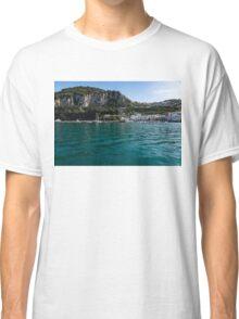 Capri Island Silky Smooth Emerald and Aquamarine Classic T-Shirt