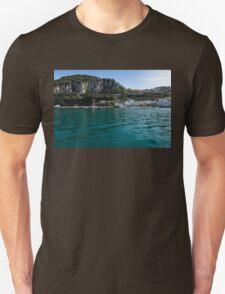 Capri Island Silky Smooth Emerald and Aquamarine T-Shirt