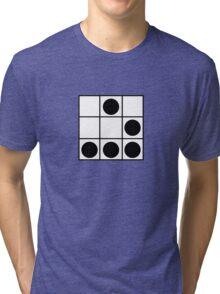 "The Glider: ""A Universal Hacker Emblem"" - Jargon File Tri-blend T-Shirt"
