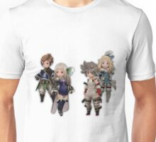 Bravely Second - Yew, Magnolia, Edea, Tiz Unisex T-Shirt