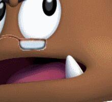 Pepperidge Goomba Sticker