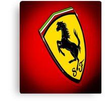 Il Cavallino Ferrari Canvas Print