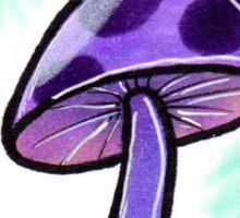 Mushroom in a Jar Sticker