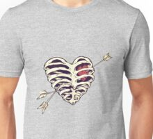 Arrows to the heart Unisex T-Shirt