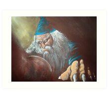 Merlin'ambition Art Print
